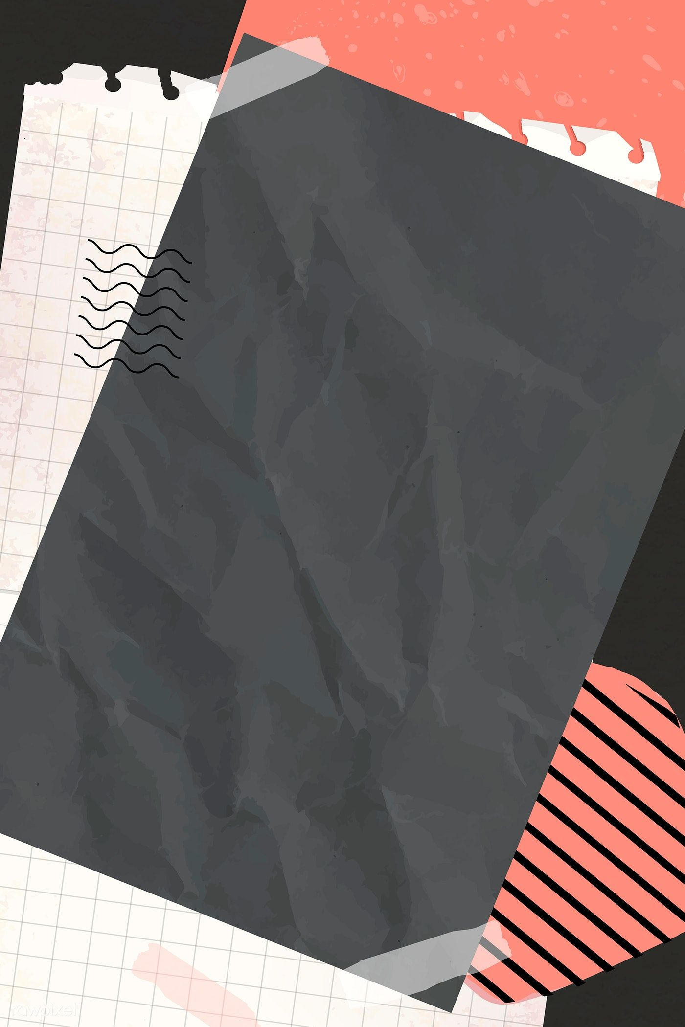 collage background vector