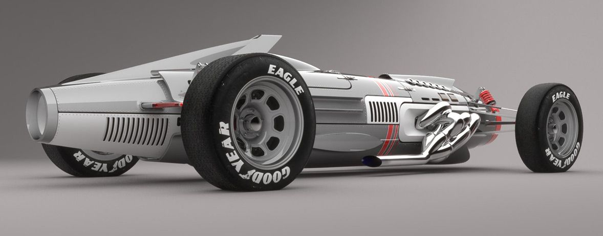 Mig inspired concept car by Sabino Leerentveld