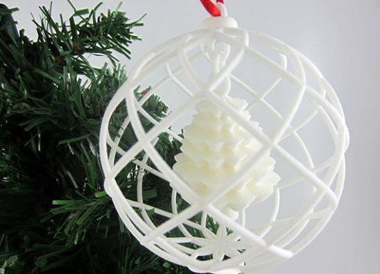 3d Printed Christmas Ball