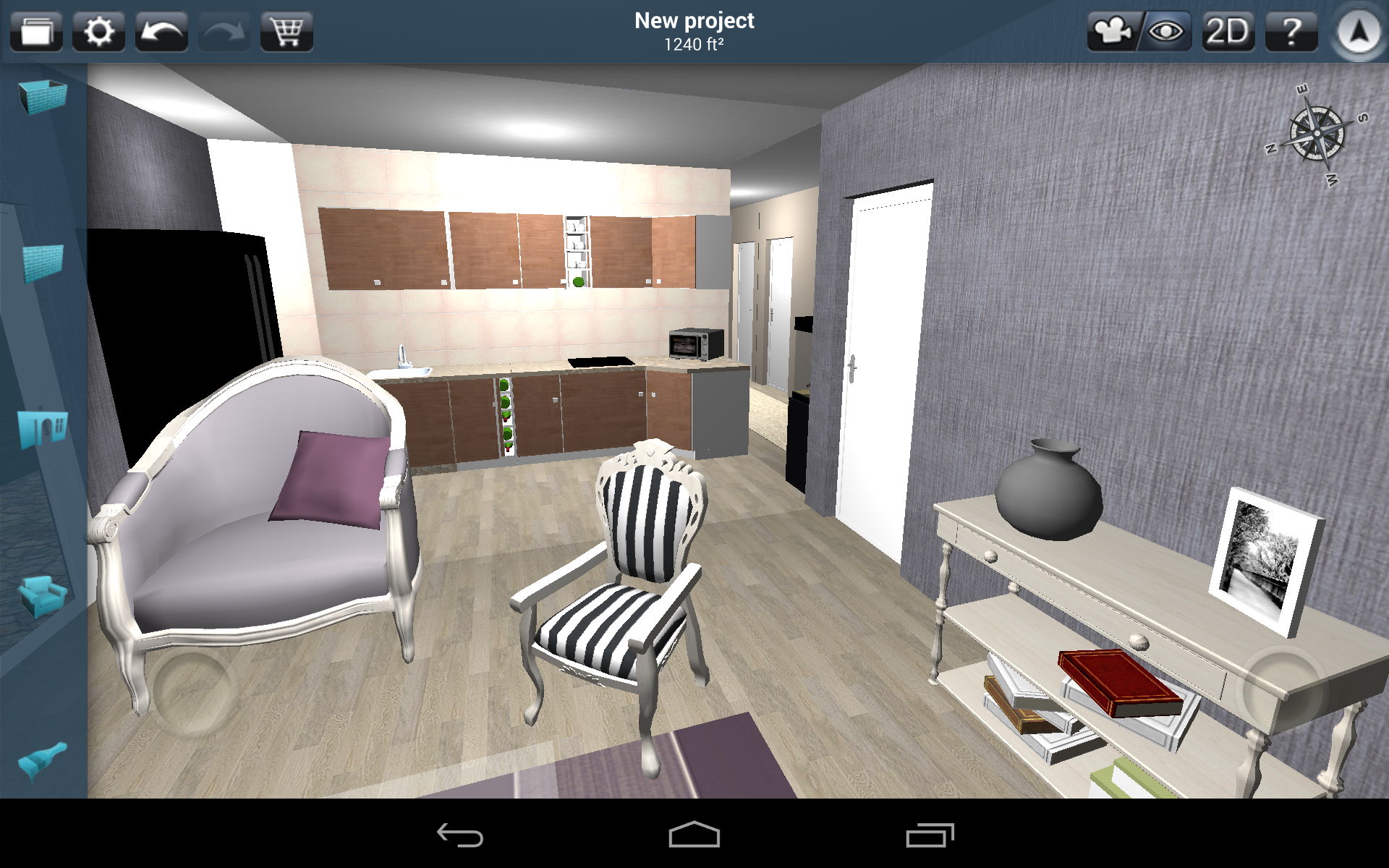 Kitchen. Created with #homedesign3d app on #Android. http://bit.ly/11lHyqp