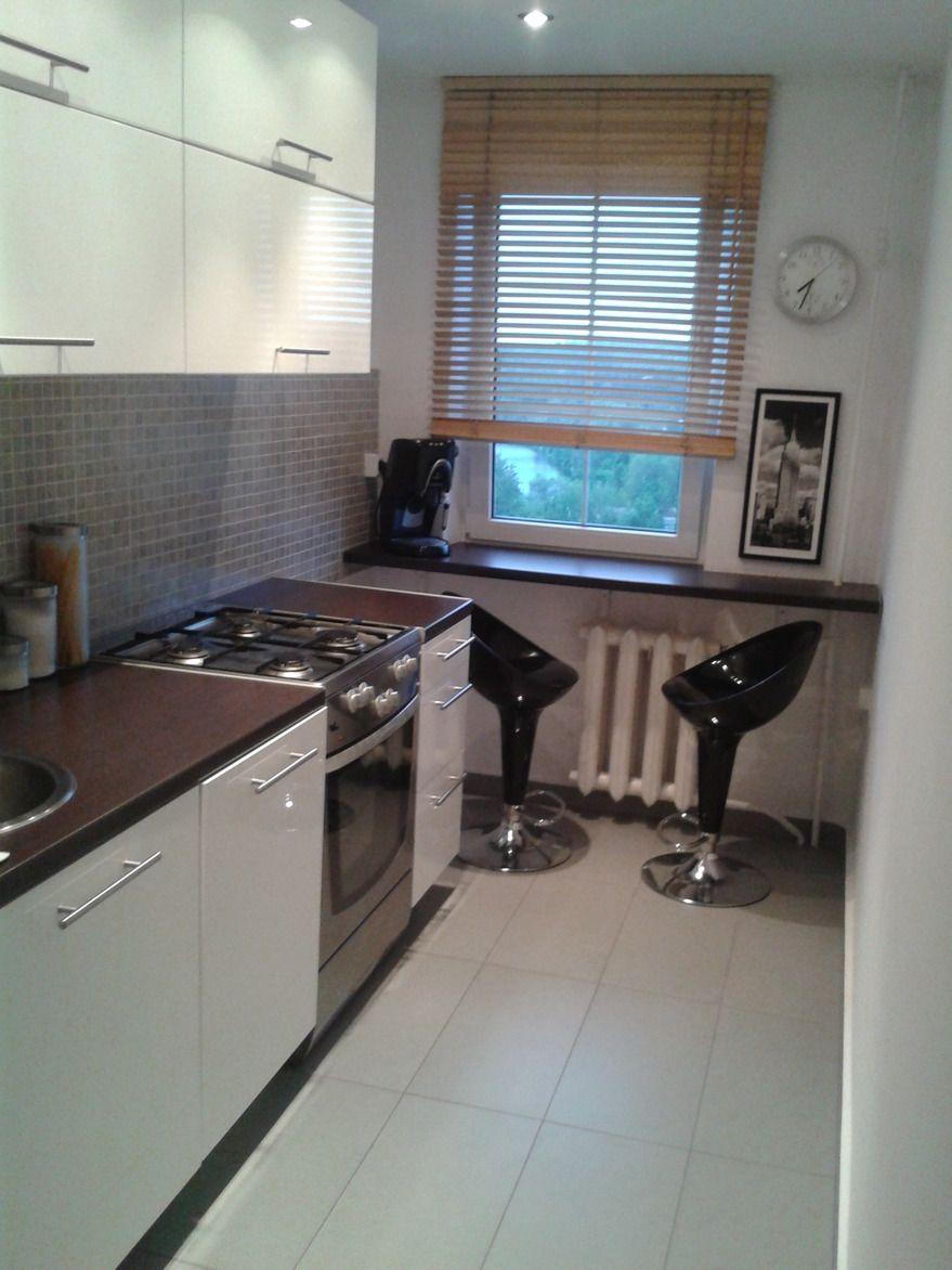 Zdjecie Nr 1 W Galerii Nasze Poprzednie Mieszkanie 50 M Wielka Plyta Modern Kitchen Design Kitchen Design Modern Kitchen