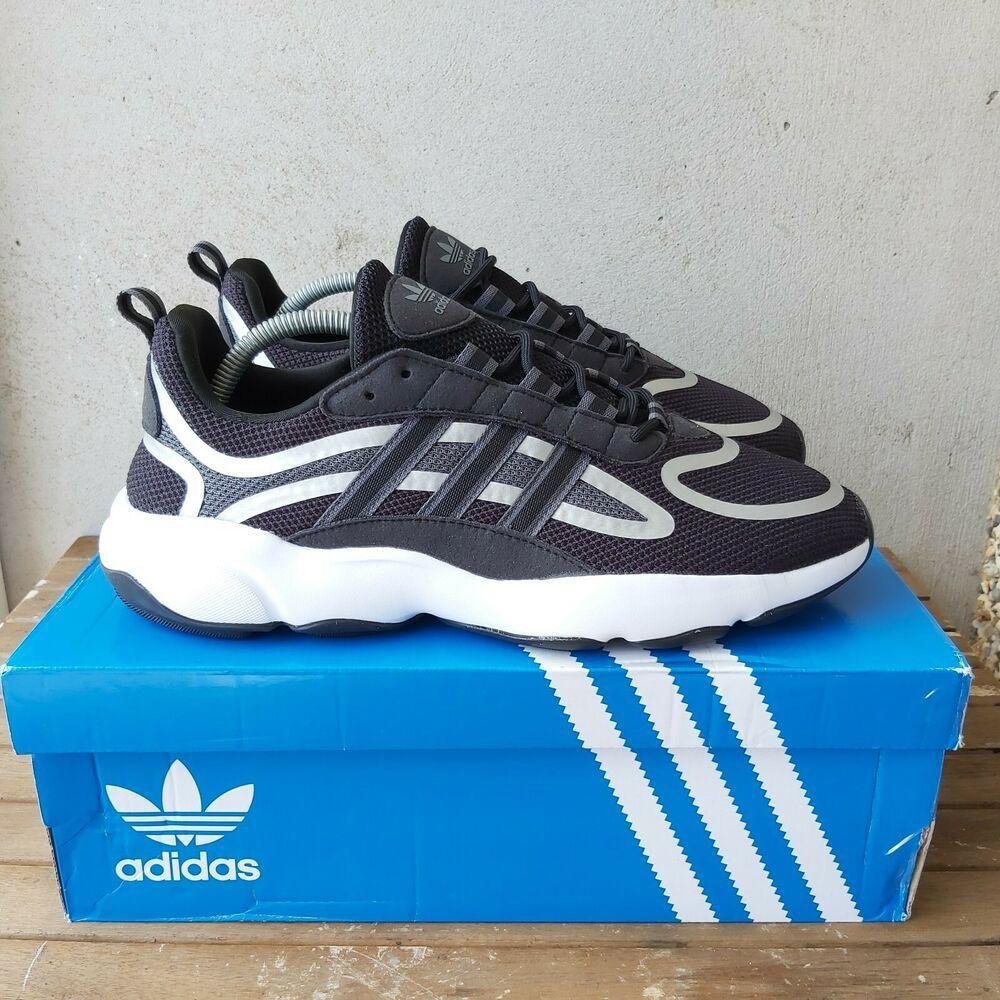 Adidas Black Haiwee trainers Size 7 UK