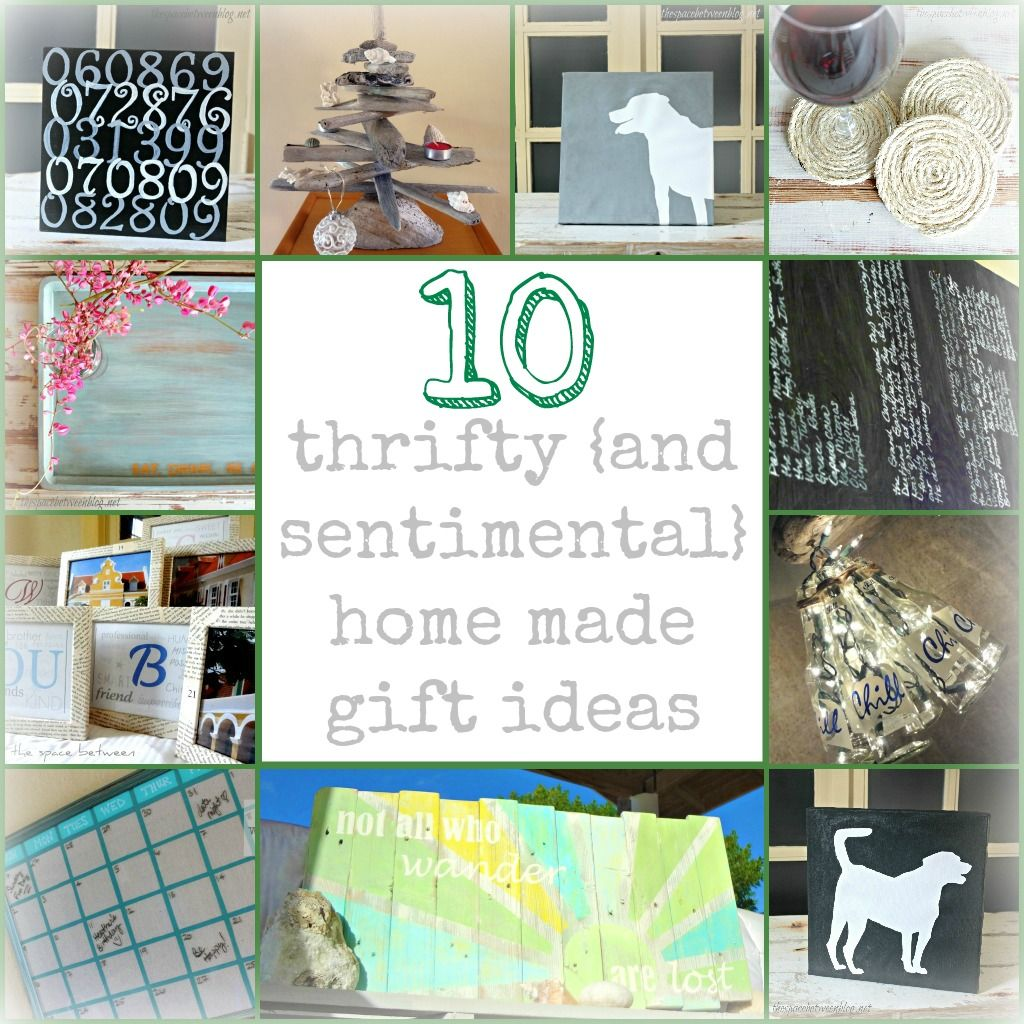 These are great DIY gift ideas with full tutorials from ...