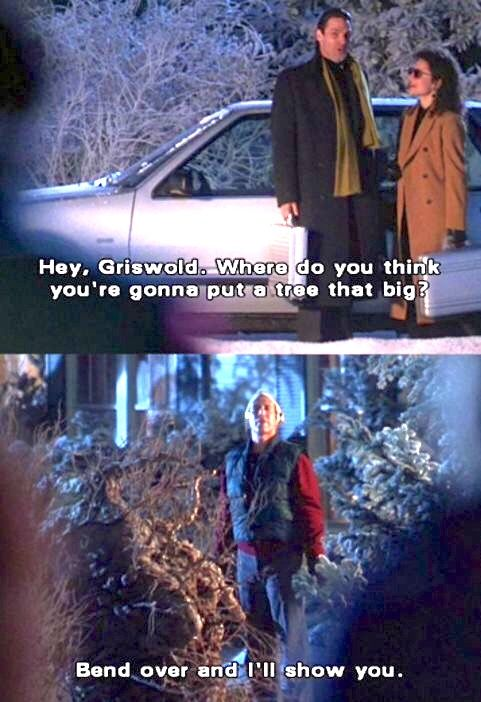 Christmas Vacation 1989 Todd Hey Griswold Where Do You Think