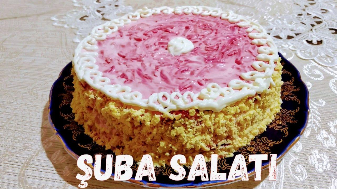 Cooox Dadli Və Gozəl Suba Salati 2020 Bayram Sufrəsi Ucun Salat Shuba Desserts Cake Vanilla Cake