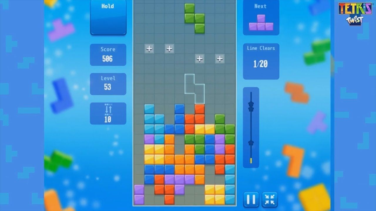 Tetris Twist Gameplay Intro Free Online Games With Images Free