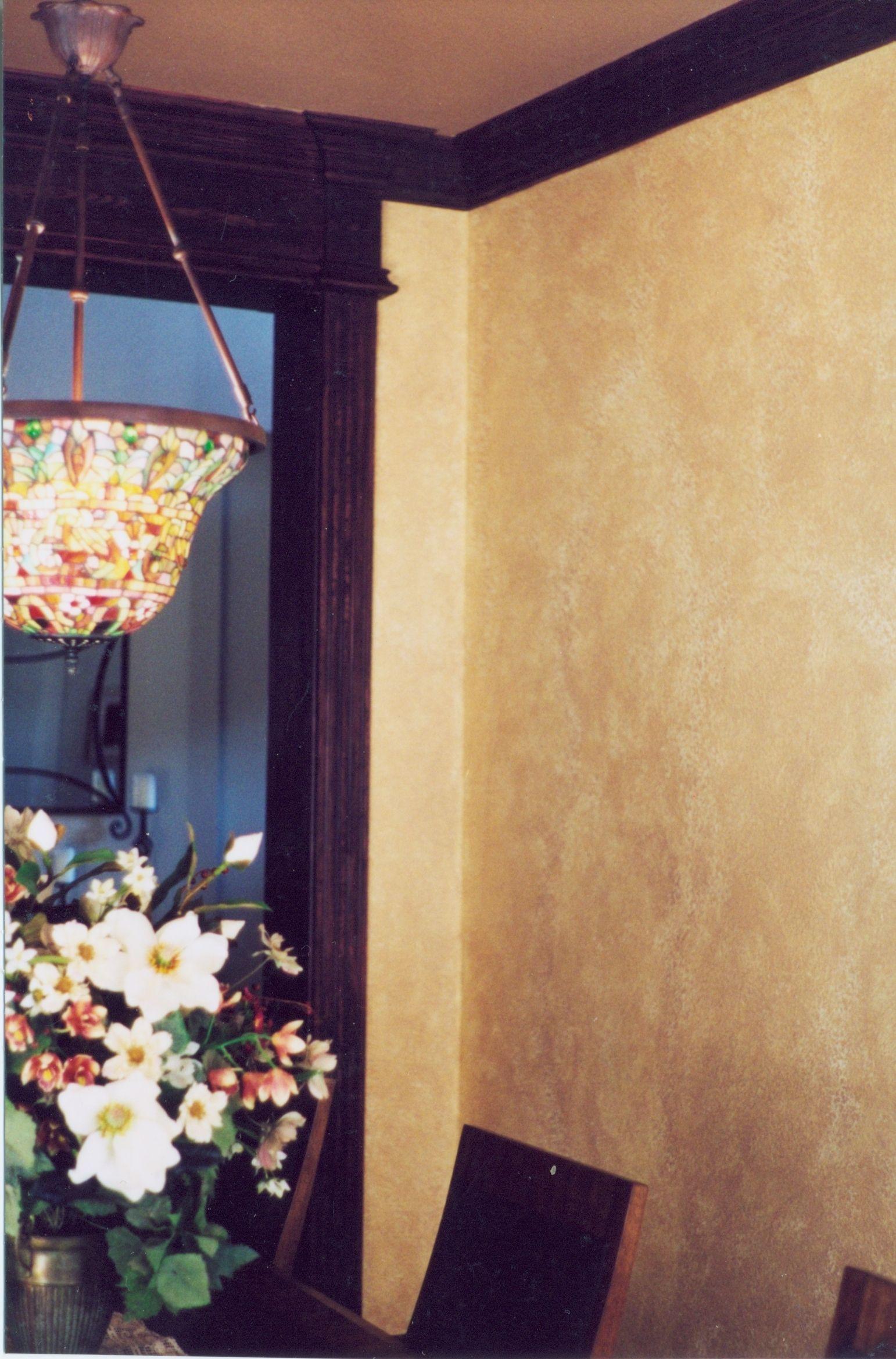 Light Tuscan Glazed Walls