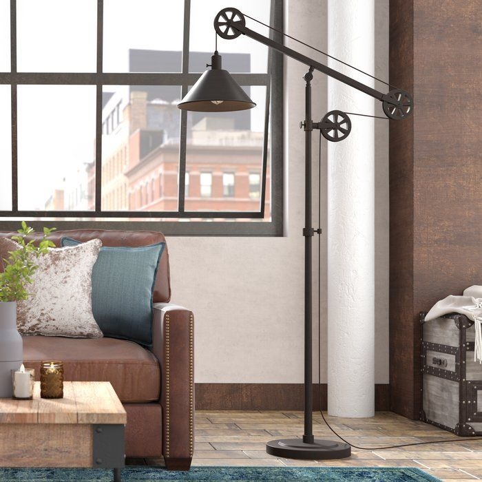 Carlisle 70 Quot Floor Lamp Floor Lamp Swing Arm Floor Lamp Traditional Floor Lamps