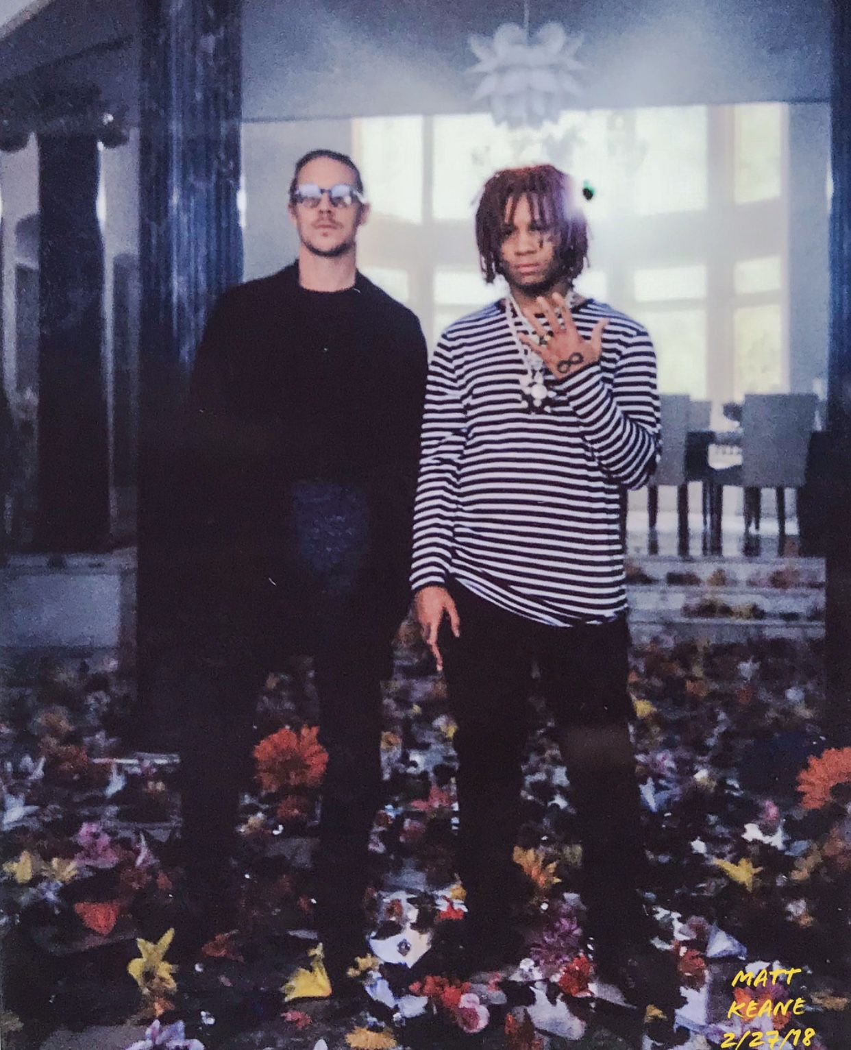 Diplo Rapper >> Trippie With Diplo Trippie Redd Celebrities Best Rapper