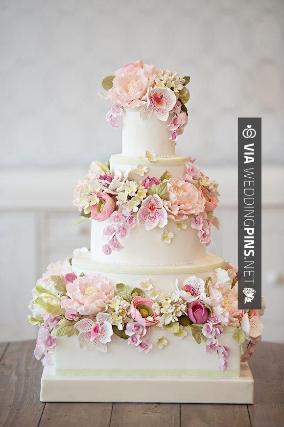 Wedding Cake Designs 2017 Pinterest