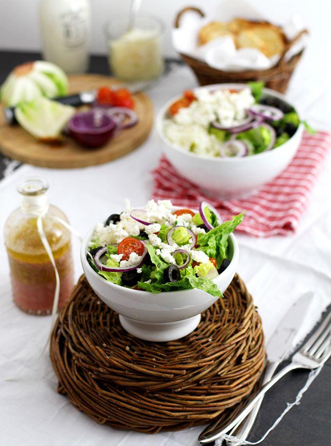 Griechischer Salat mit Feta - KüchenDeern