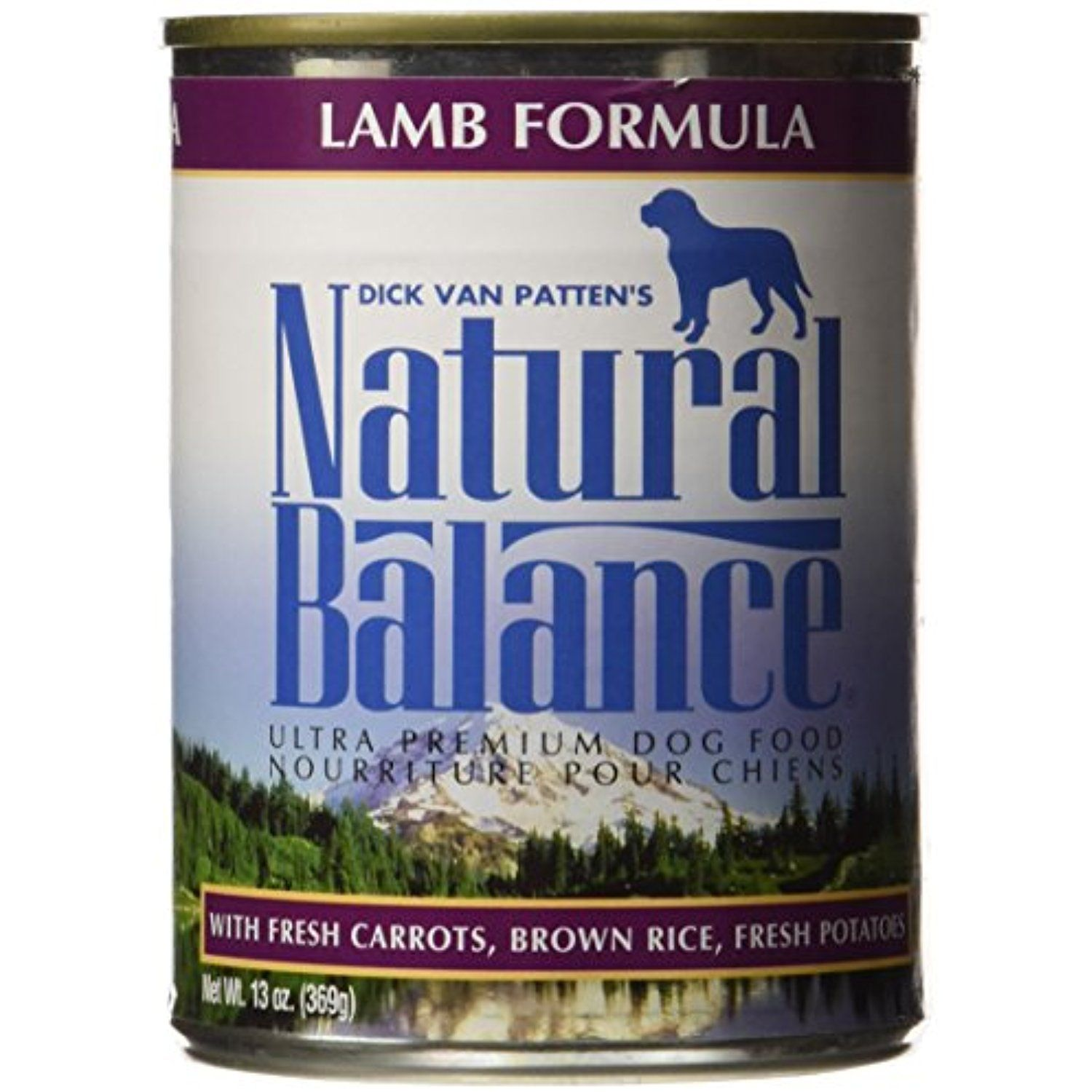Natural Balance 13 Oz Ultra Premium Lamb Formula Canned Dog Food