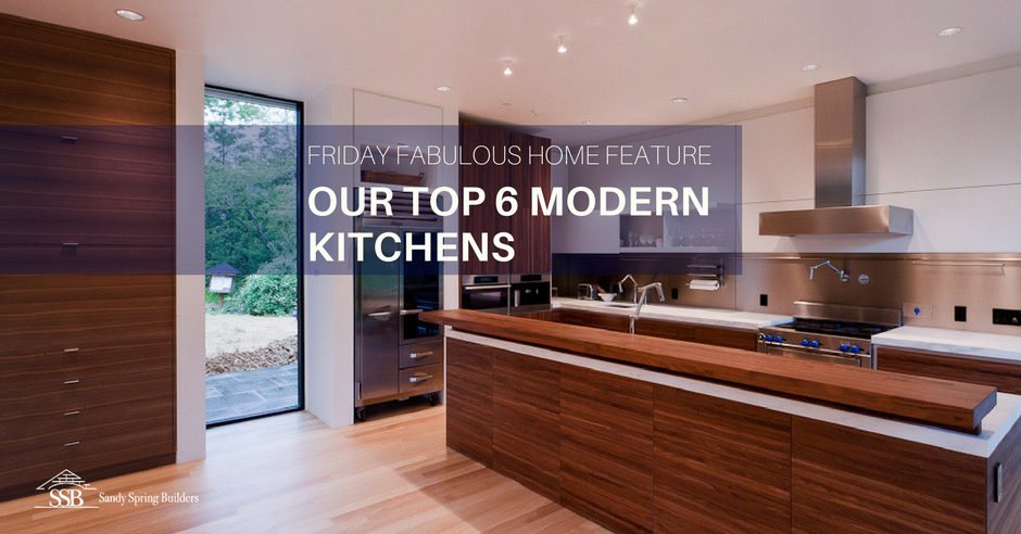 Whether you call it modern or contemporary, a kitchen with sleek ...