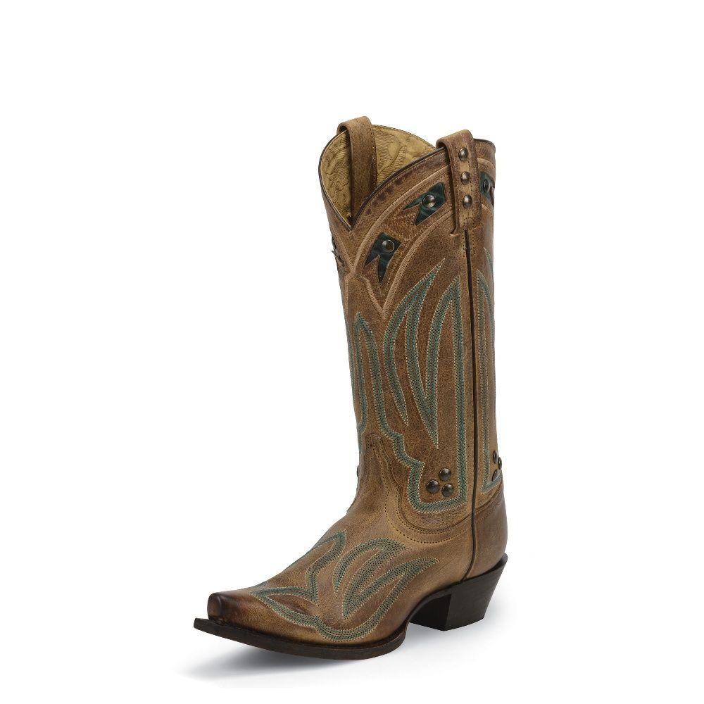 Tony Lama Boots #VP3045  Cuero Brown