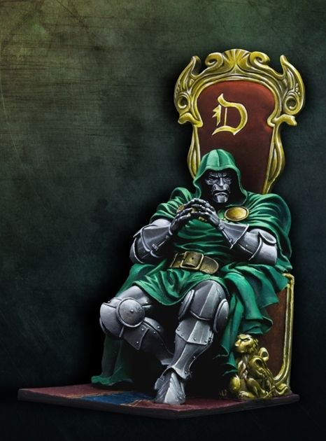 Dr Doom Offical Artbox Heroes Amp Villains Universo