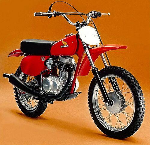 1977 Honda Xr75 Motorcross Bike Super Bikes Honda