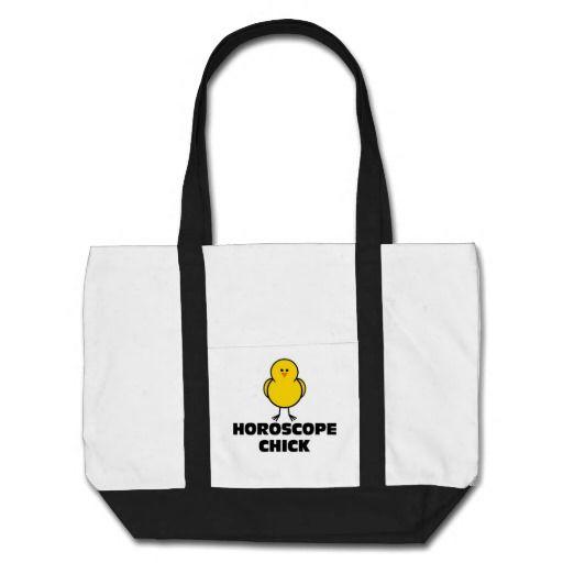 Horoscope Chick Tote Bag