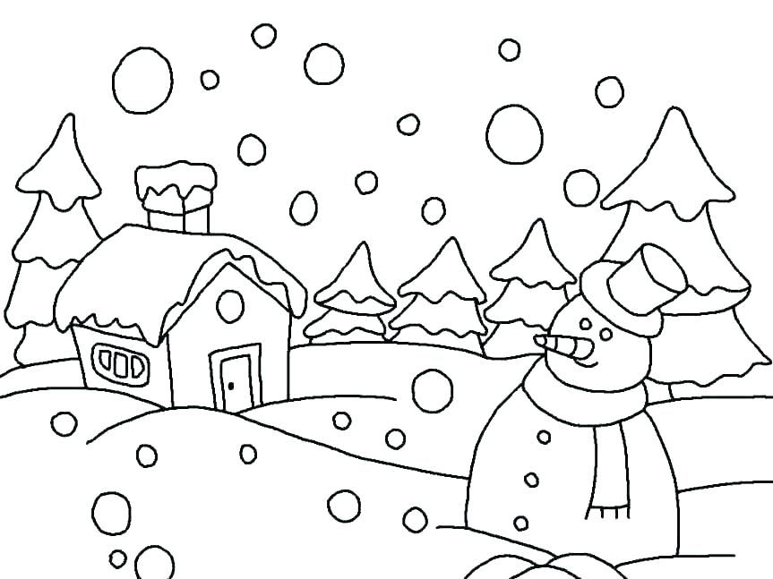 Color These Beautiful Winter Coloring Pages With Kids Free Coloring Sheets Coloring Pages Winter Christmas Coloring Pages Preschool Coloring Pages
