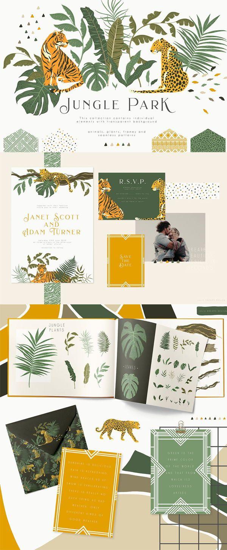 Jungle Park Collection #junglepattern