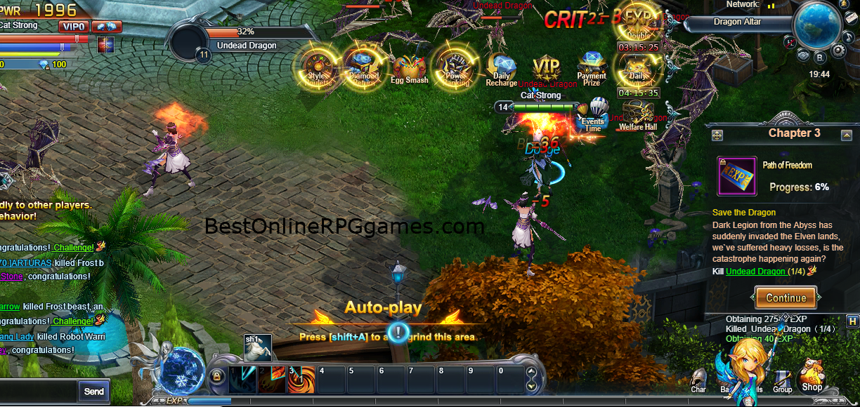 DivineStorm is a free to play MMORPG that is available to