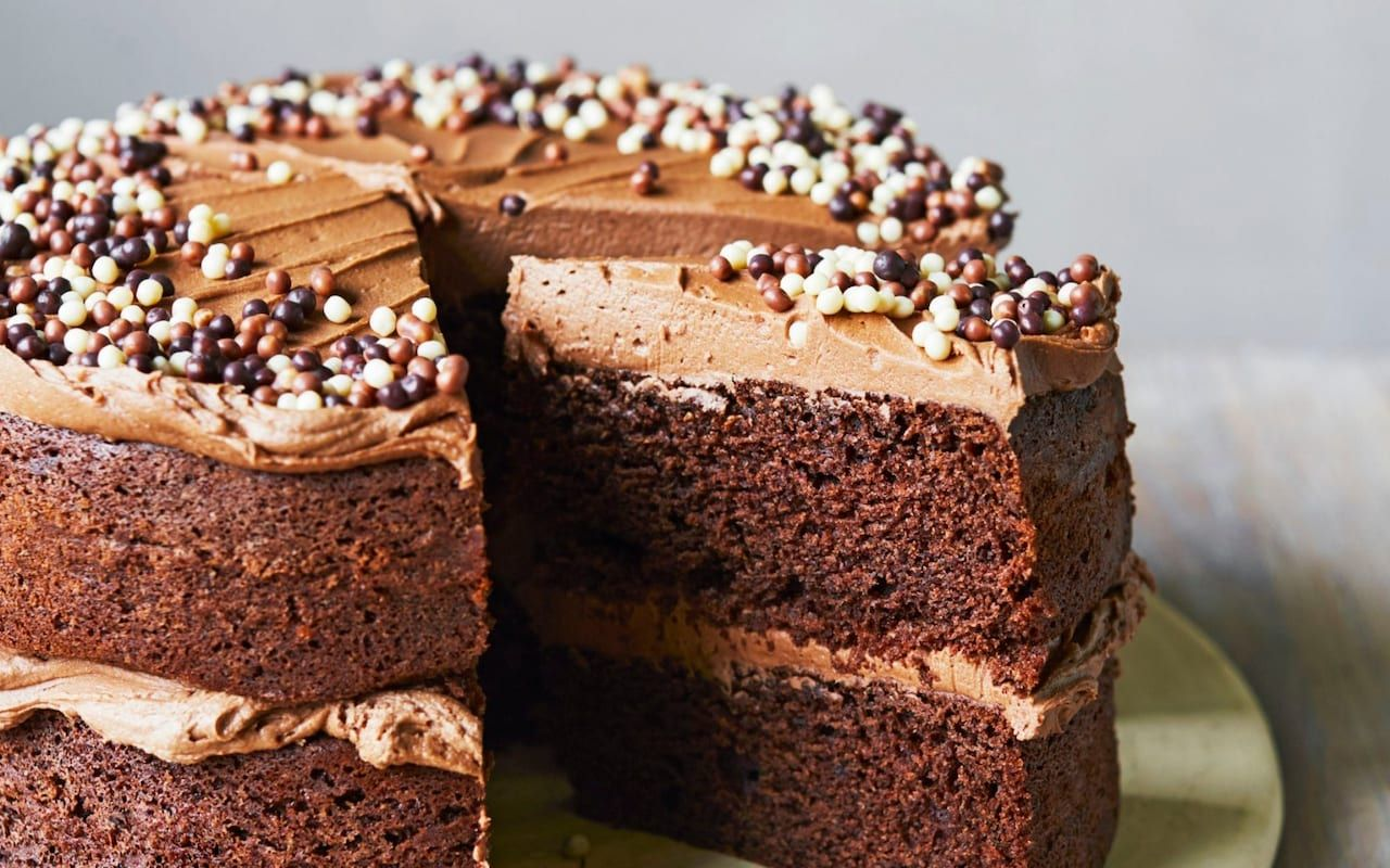 Chocolate and salted caramel cake recipe in 2020 salted