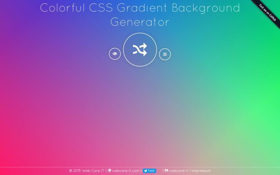 10+ Free 'Random Background Generators' for Graphic and Web