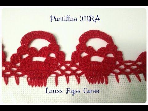 Puntilla para servilleta MRA Lauss Figss Corss