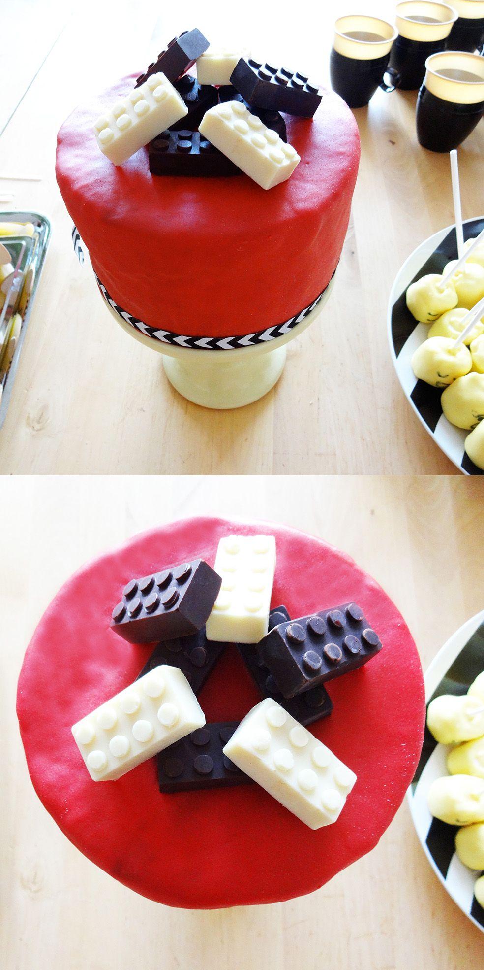 Lego Kuchen mit Fondant pasqua Pinterest