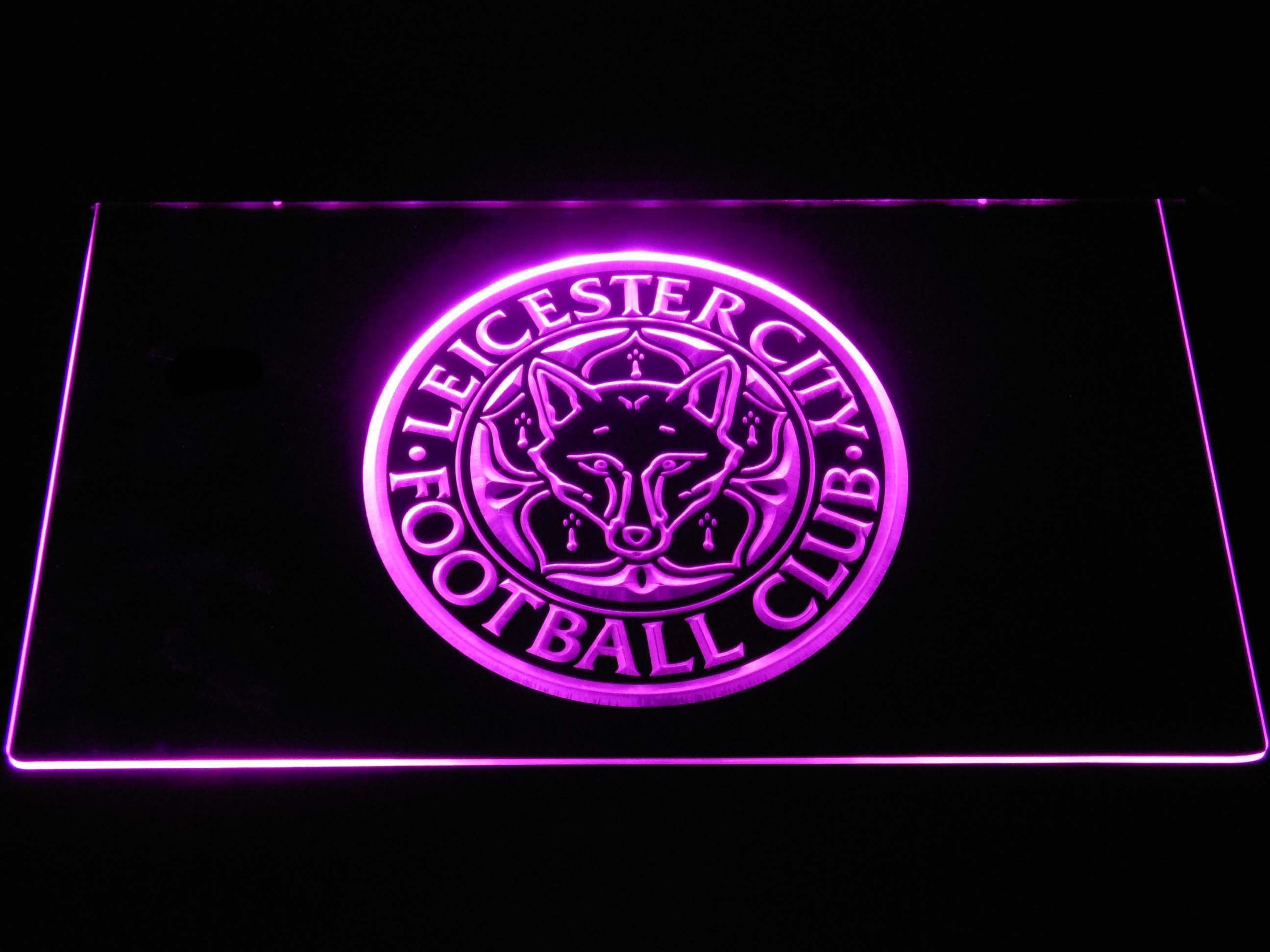 Leicester City Football Club LED Neon Sign