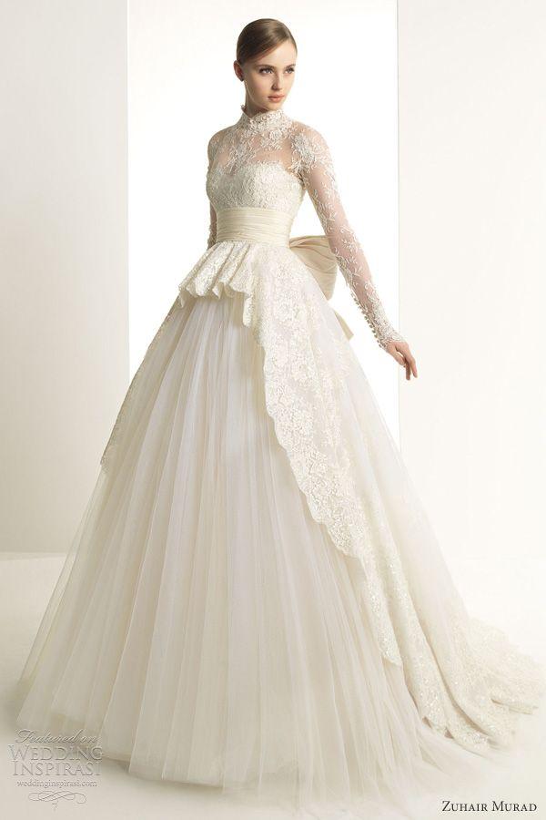Zuhair Murad Wedding Dresses 2013 Lace Wedding Dress With