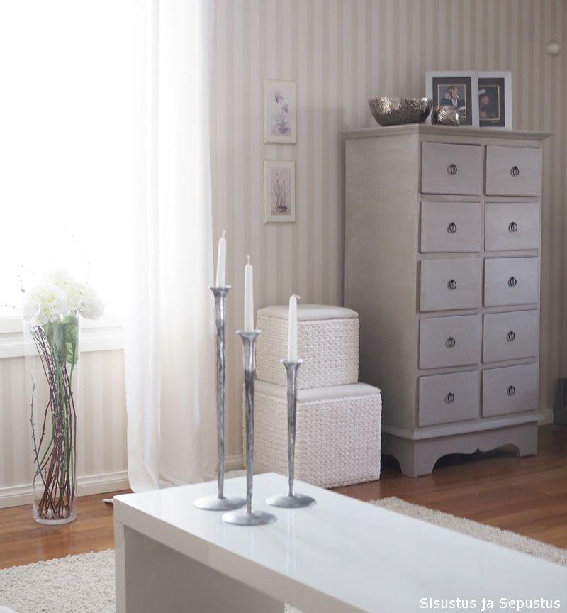 Vintage maali sävy warm latte, myös vaha pyyhkimisen helpottamiseksi - Sisustus ja Sepustus