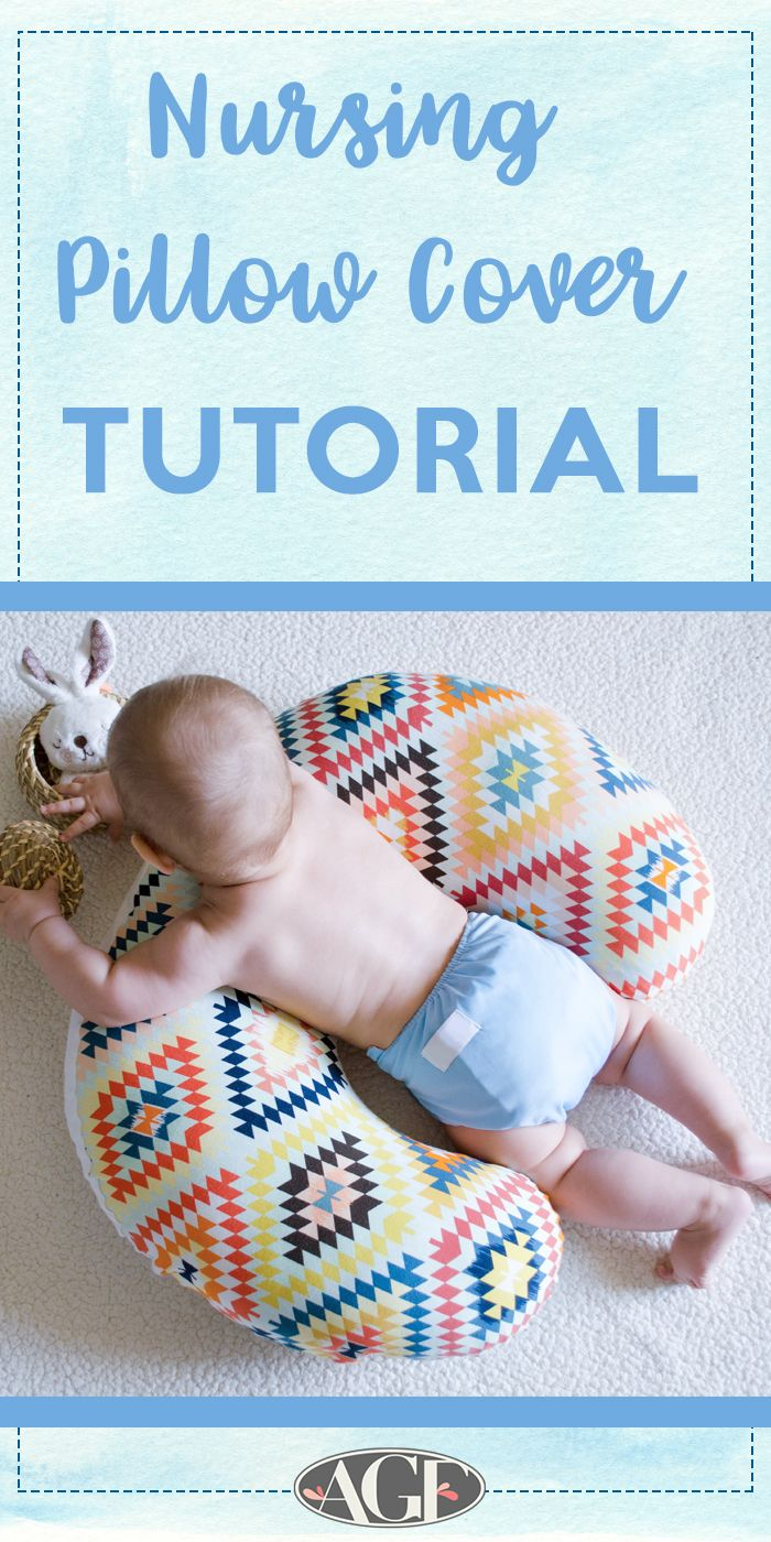 492005655 Let s Talk Baby Shower Gifts  Nursing Pillow Cover Tutorial (Art ...