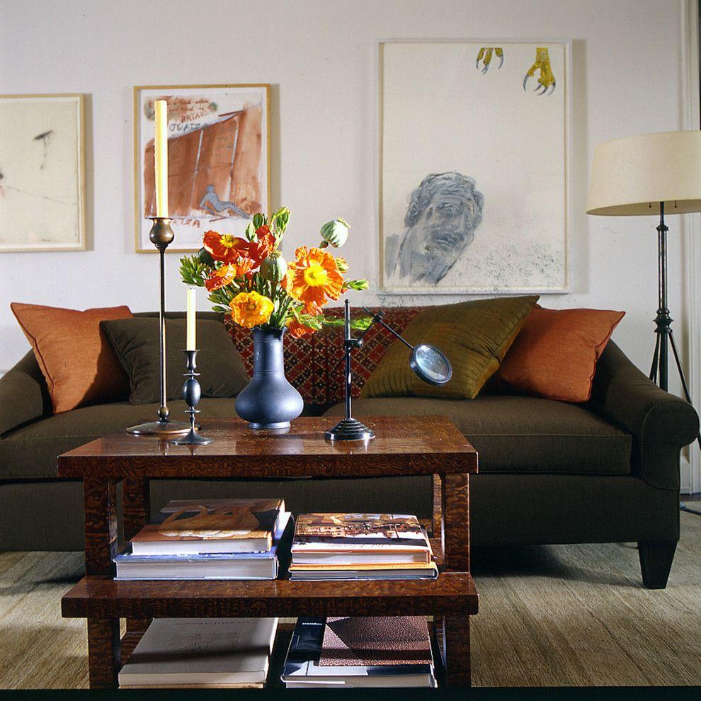 contemporary living room new york glenn gissler design
