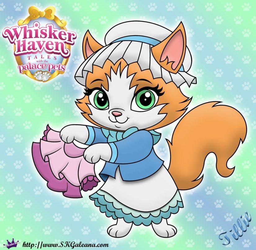 Whisker Haven Tales Coloring Page Of Tillie Disney Princess Palace Pets Disney Princess Pets Princess Palace Pets
