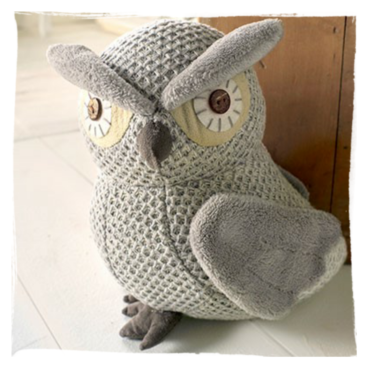 Heavy Weight Door Stop Large Owl Doorstop Large Heavy Weight Owl Doorstop In Grey Tones