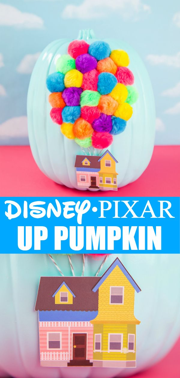 DIY Disney UP Pumpkin