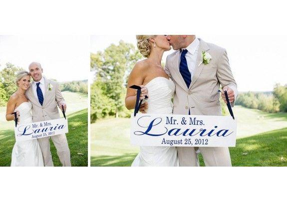 Wedding Signs Mr Mrs