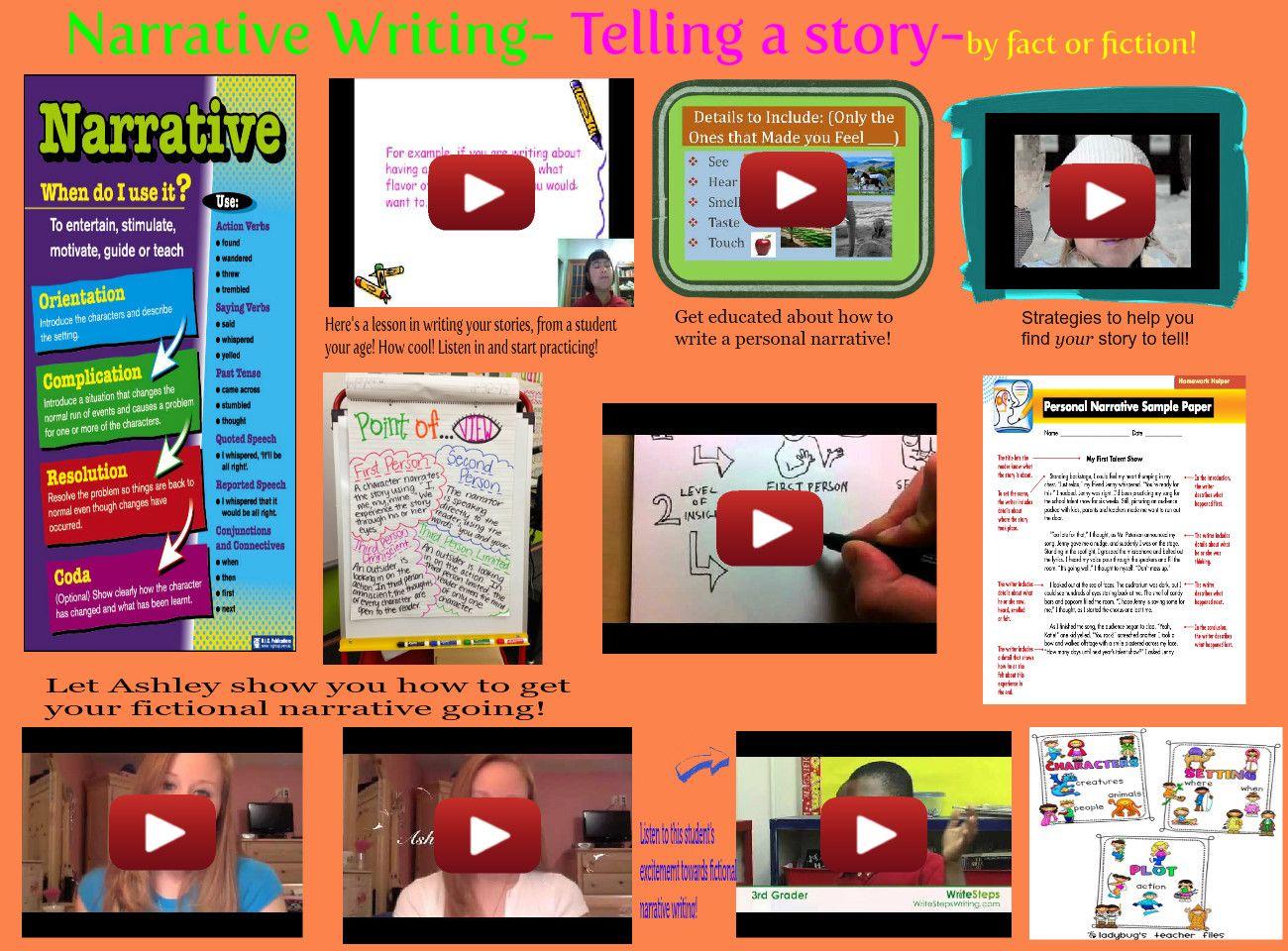 Narrative Writing Tells A Story