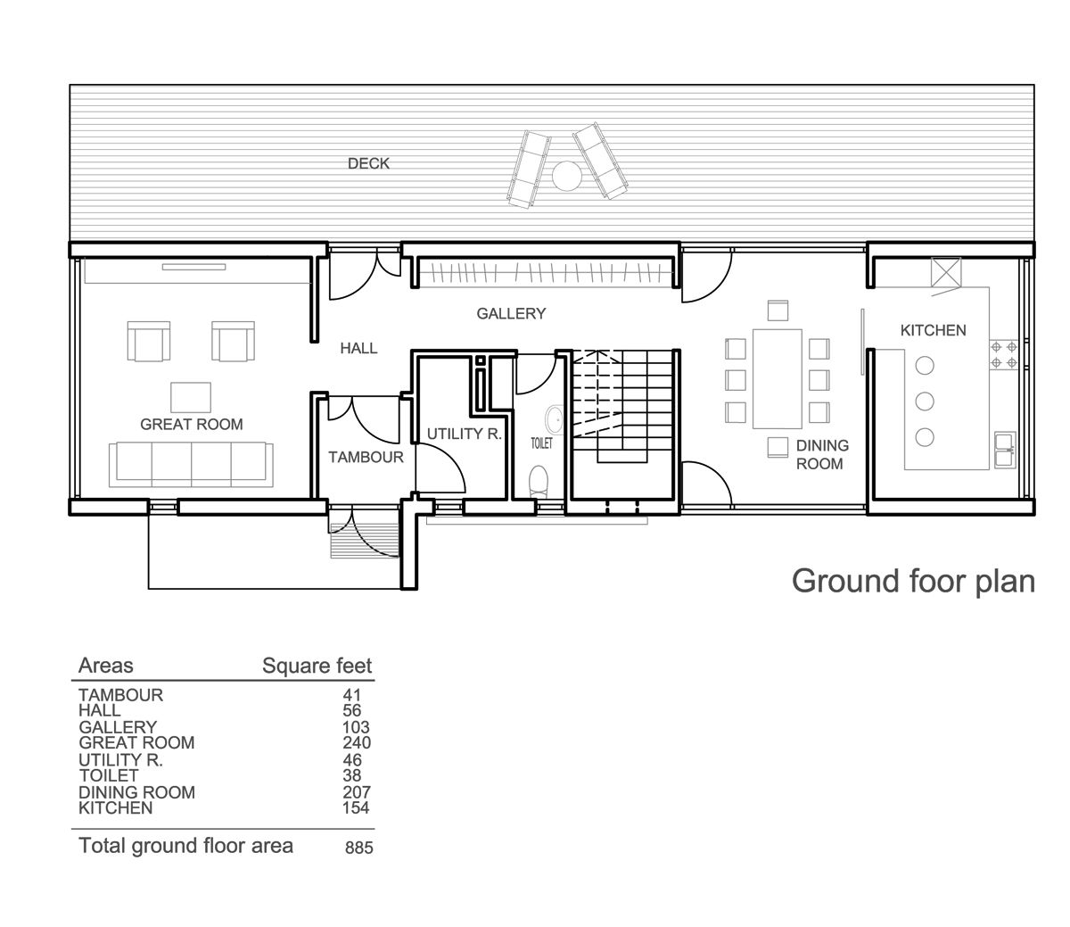 Small Foyer For 2 Storey Rectangle House Google Search Planos