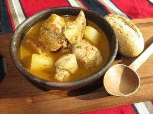 Pollo al pil pil with potatoes pollo al pil pil with potatoes a chilean recipetps forumfinder Image collections