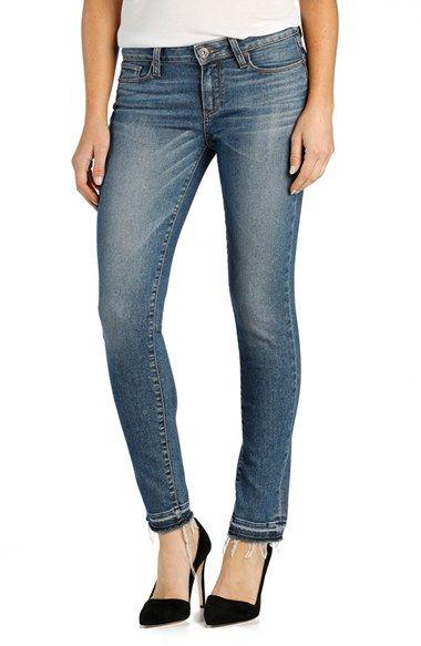 PAIGE 'Skyline' Released Hem Ankle Peg Skinny Jeans (Tay)