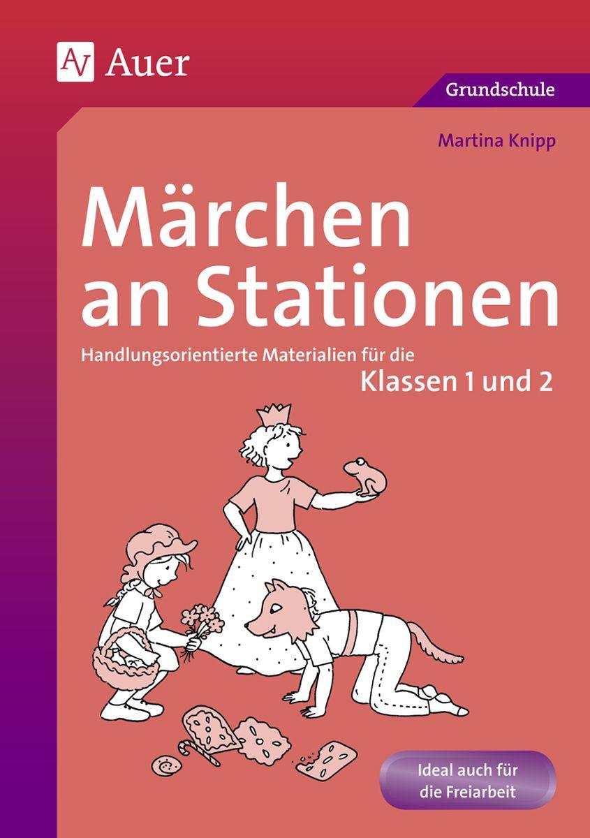 Märchen an Stationen Klasse 1/2 | němčina | Pinterest | German
