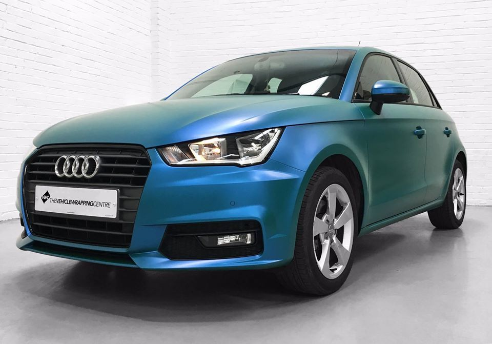 3m Satin Flip Caribbean Shimmer Applied To An Audi A1 This Is A