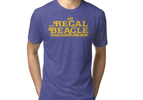 The Regal Beagle Three S Company T Shirt Tri Blend T Shirt By