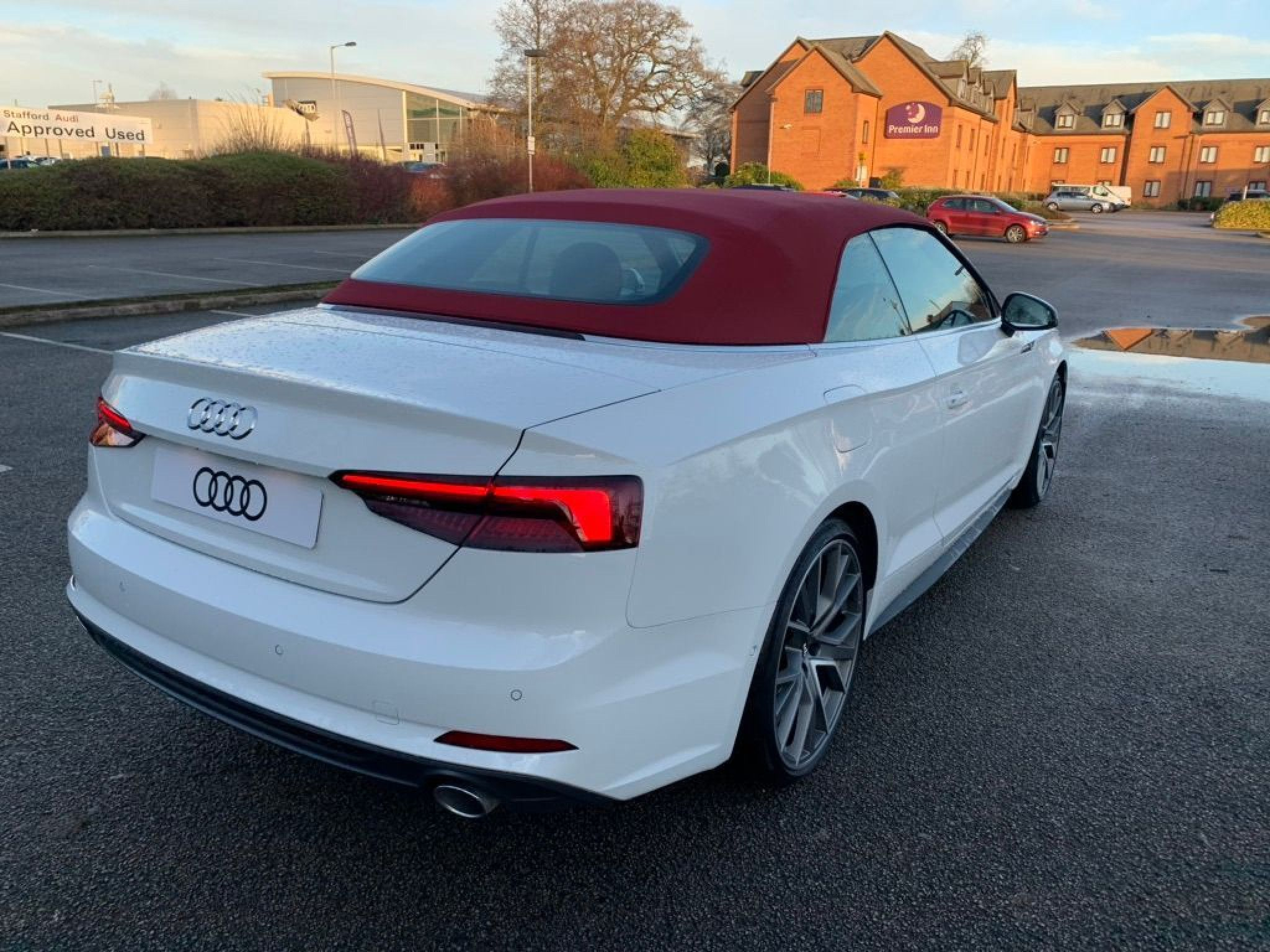 Audi A5 Cabriolet Vorsprung 40 Tfsi 190 Ps S Tronic In 2020 A5 Cabriolet Audi A5 Audi