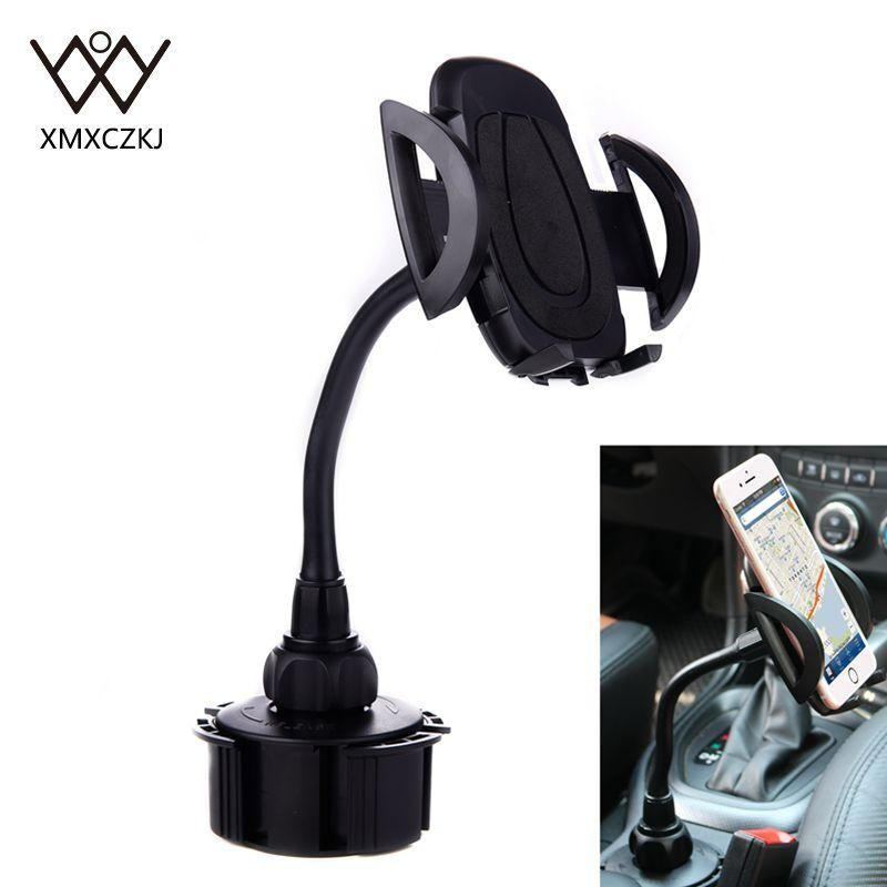 Adjustable Longer Neck Car/Truck Cup Holder Phone Mount