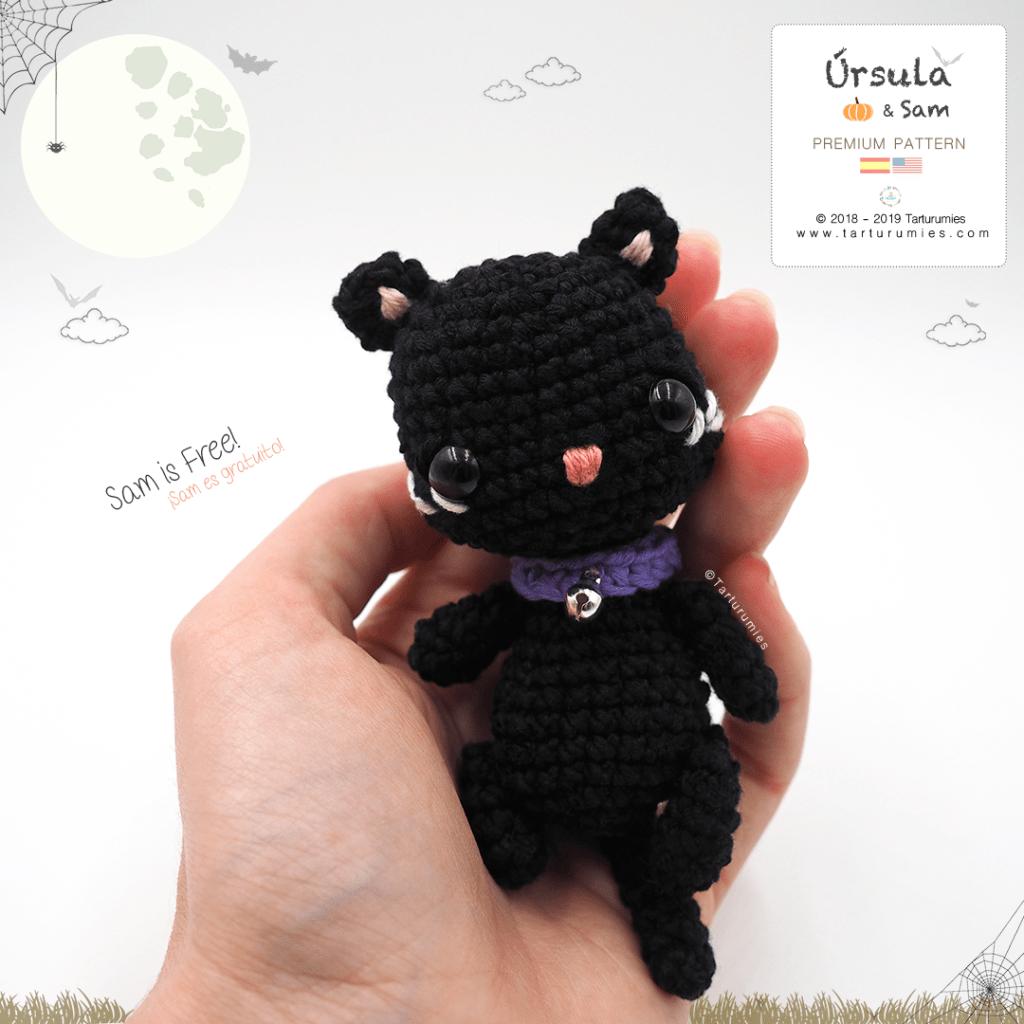 Amigurumi Halloween Cat Free Pattern – FREE AMİGURUMİ CROCHET ... | 1024x1024