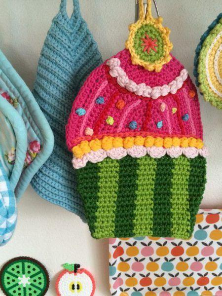 Topflappen haekeln (6) | Häkeln - crochet | Pinterest | Crochet