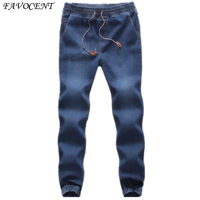 a17ccfde75280 Closing Leg Jeans Spring 2017 New Fashion Male Taxi Fertilizer Xl Elastic  Stretch Pants Feet Pants