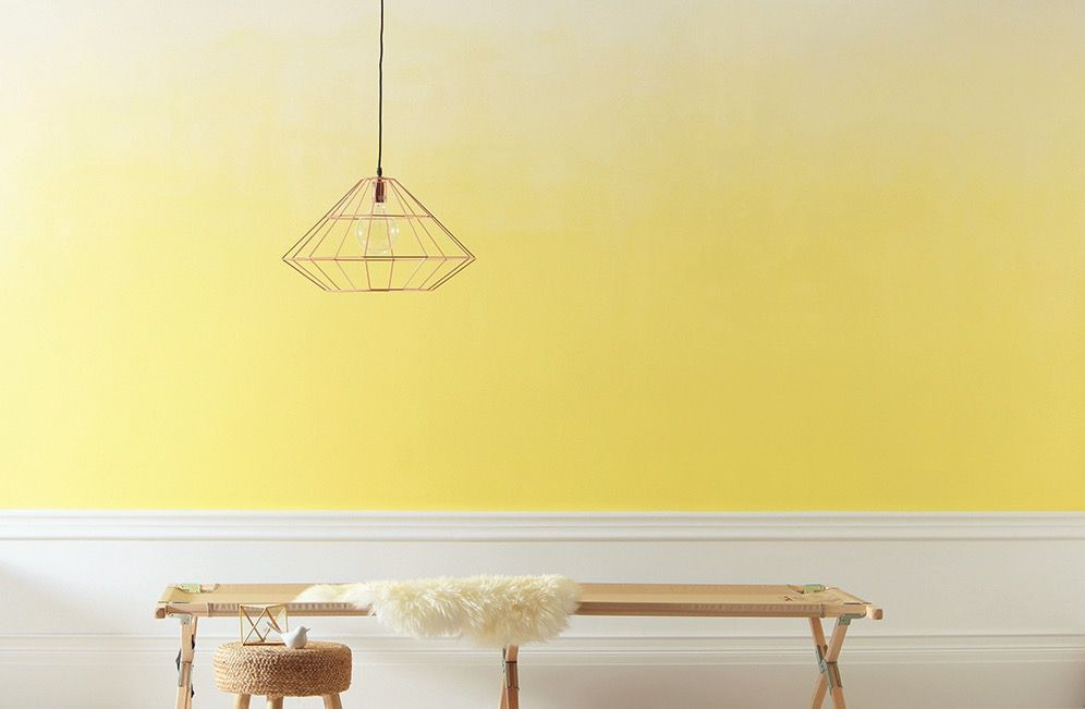 How To Paint A Fabulous Ombre Wall Ombre Wall Wall Paint